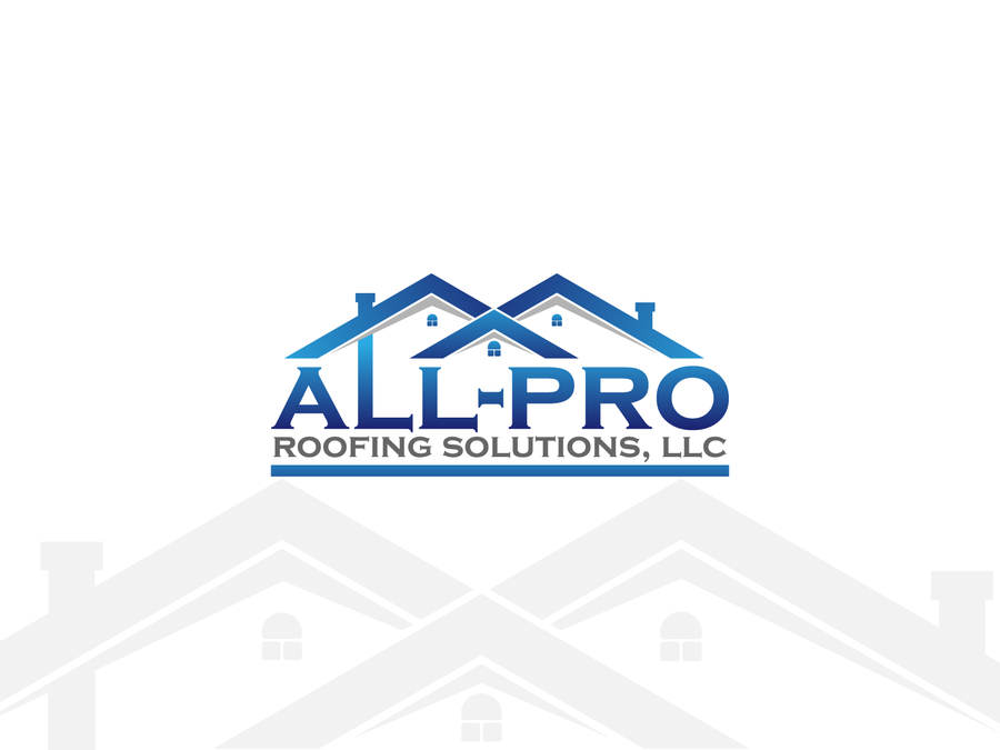 Create a simple, modern, eye catchy logo for roofing business by ...