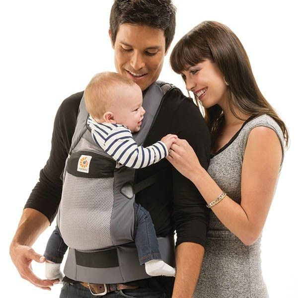 Ergobaby Performance Ventus Carrier Graphite Baby Bunting