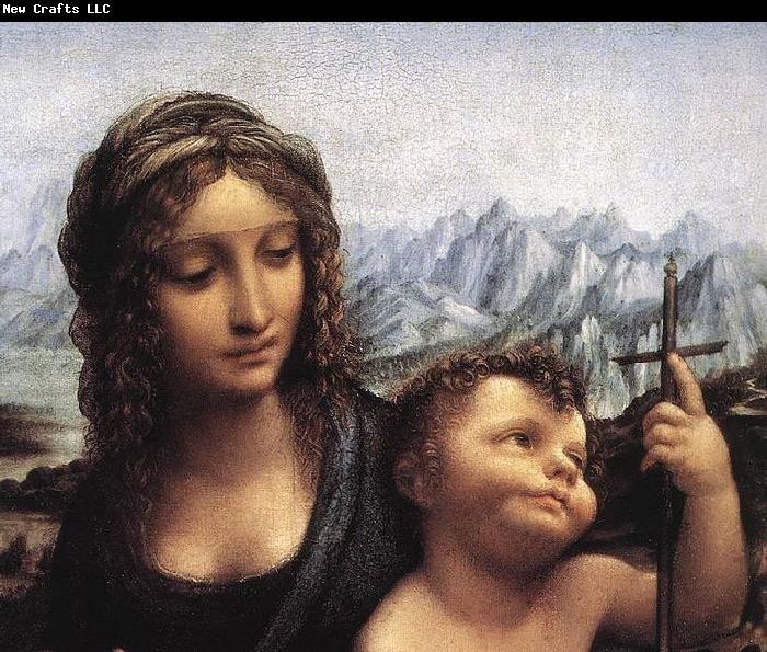 LEONARDO da Vinci Madonna with the Yarnwinder