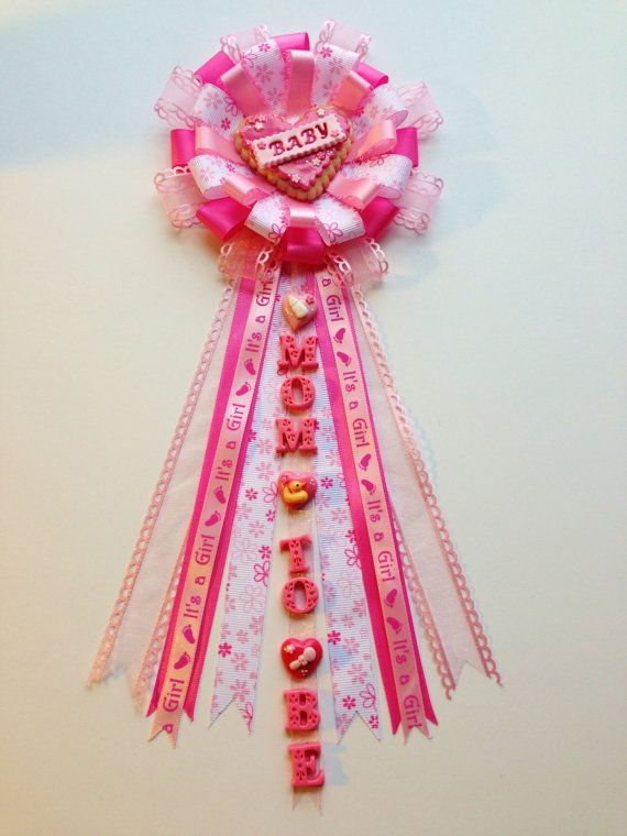 This Valentine's Baby Shower Corsage is one of a kind Design, all handcrafted  piece by piece. Description from etsy.com. I searched for this on bing.com/images