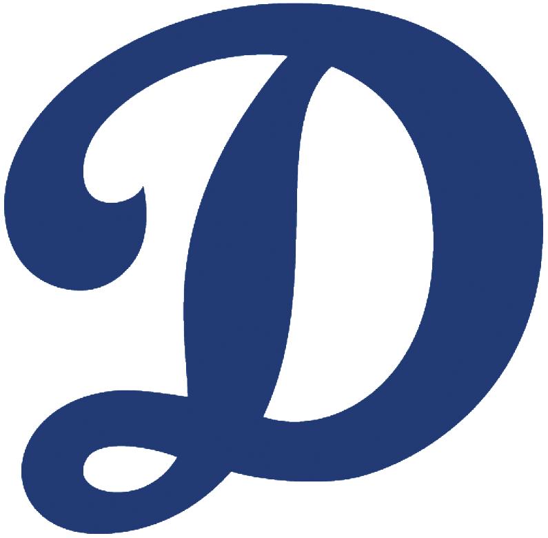 Oklahoma City Dodgers Alternate Logo (2015) D from
