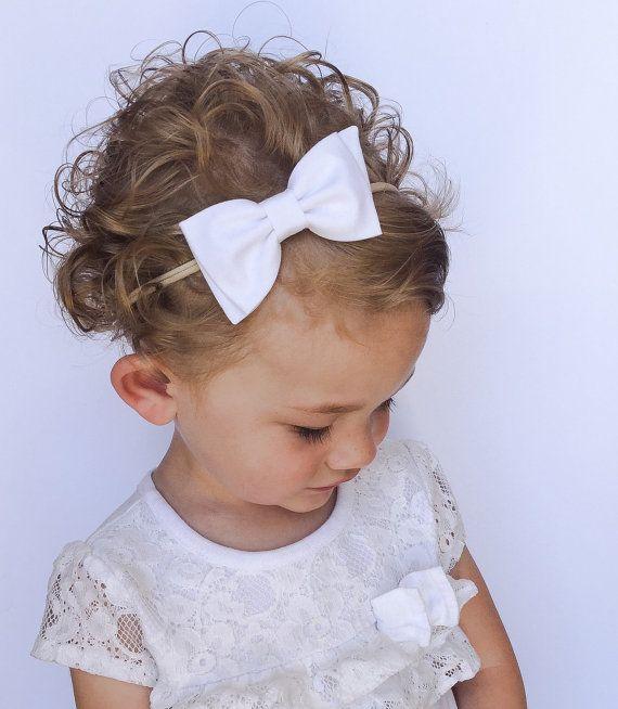 White baby headband cotton solid plain baby girls headband baby bow plain white baby accessories knot headband baby girl headband