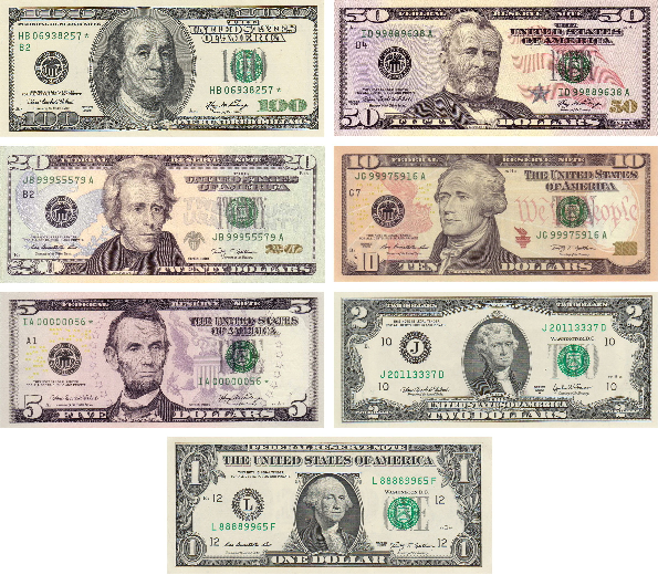 Printable Monopoly Money | Monopoly Money and Federal Reserve ...