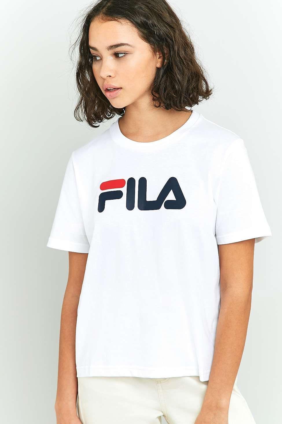 579ba3ddcc FILA White Eagle T-shirt | Alibi | Eagle shirts, T shirt, T shirts ...