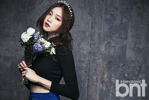 Lee Sung Kyung - bnt International February Issue '15