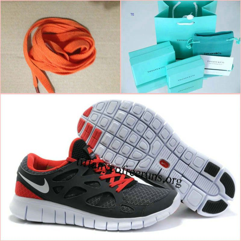 buy popular f46d5 35cd9 Nike Free Run 2 Size 12 Anthracite White Black Sport Red half off