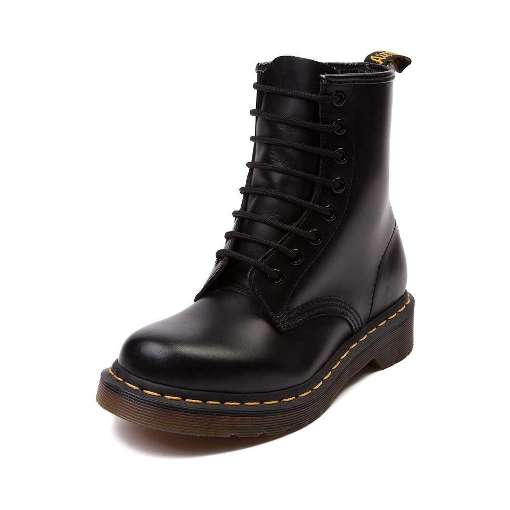 Black · Womens Dr. Martens 1460 8 Eye Boot