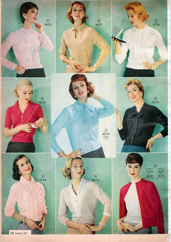 cb860f95ef3 Fashion in the 1950s  Clothing Styles