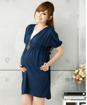 e75fc136b844e 2013 summer new arrival maternity dress ,casual one-piece cotton ...