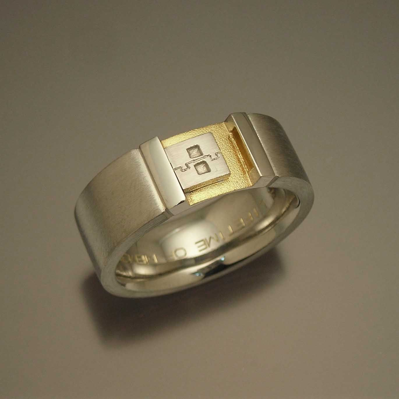 nerdy wedding ring