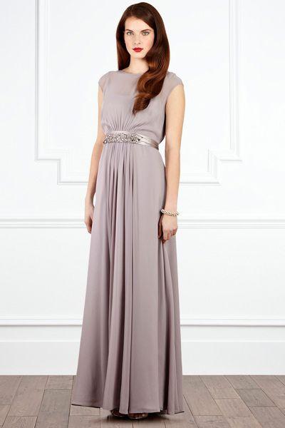 Coast Lori Lee Maxi Dress In Gray Greys Lyst Maxi Dress Dresses Bridesmaid Dresses
