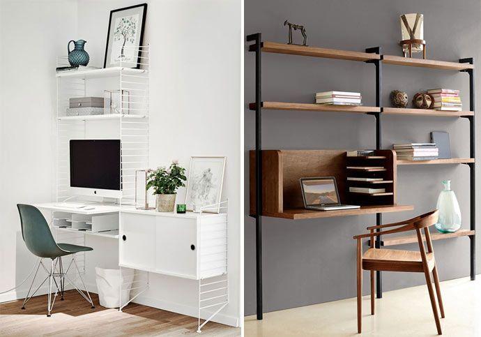 Déco espace bureau bibliothèque déco espace bureau design et