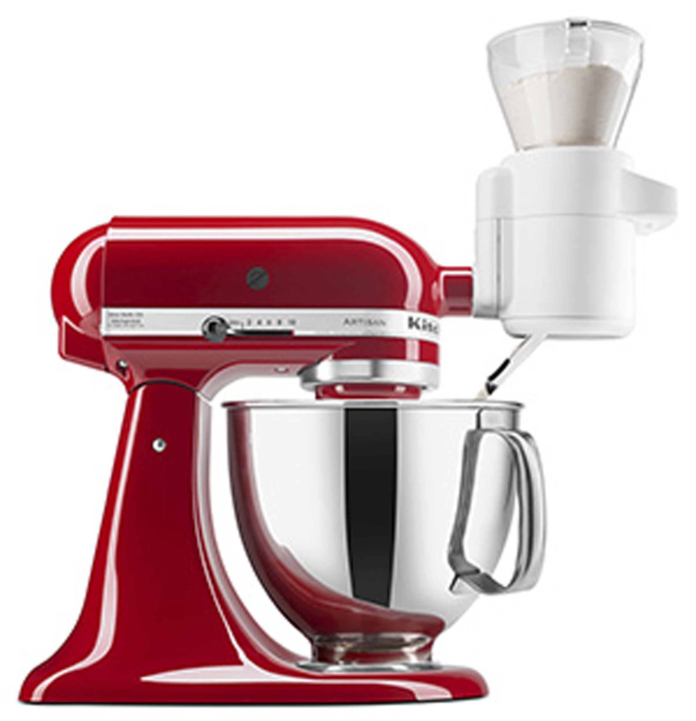 Kitchenaid ksmsfta sifter and scale mixer attachment