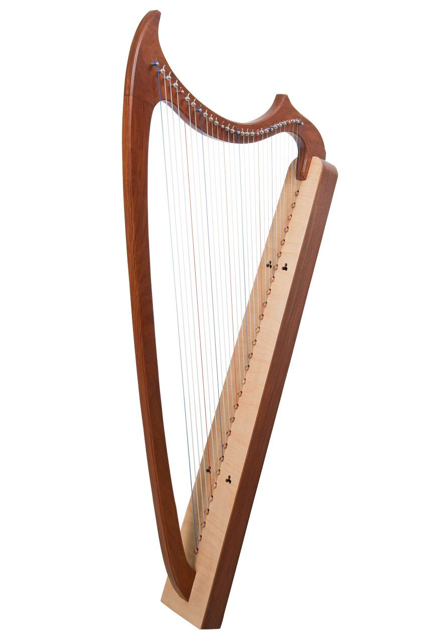 Early Music Shop 29-String Gothic Harp | Supplies: Where I