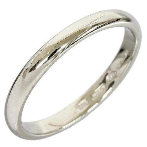 bvlgari pt950 platinum plain platinum ring us size 6