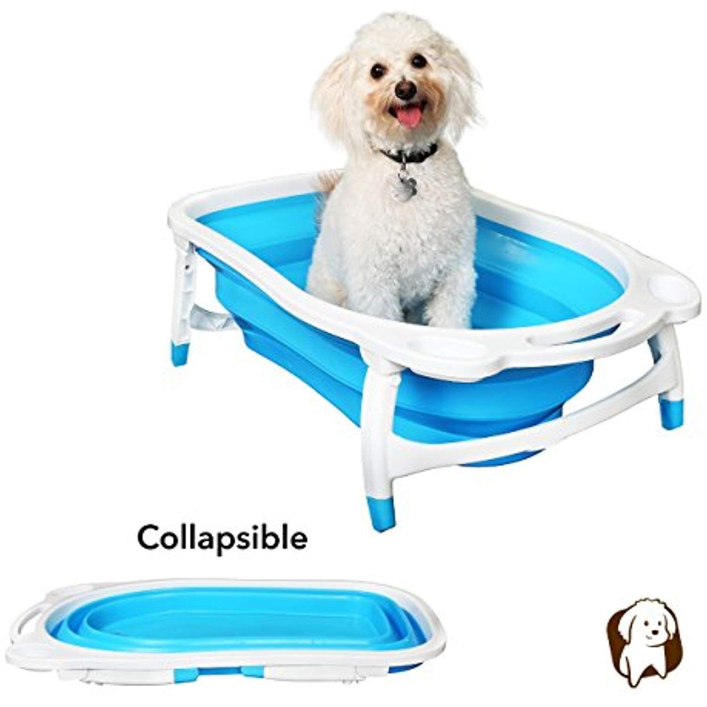 Bailey Bear Porta Tubby Collapsible Portable Foldable Dog Cat Bath