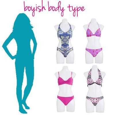 47214852ee Swimsuits for Boyish Body Type - Athletic shapes can have a hard time  finding swimsuits that create curves. We promise these will give you some  va-va-voom ...
