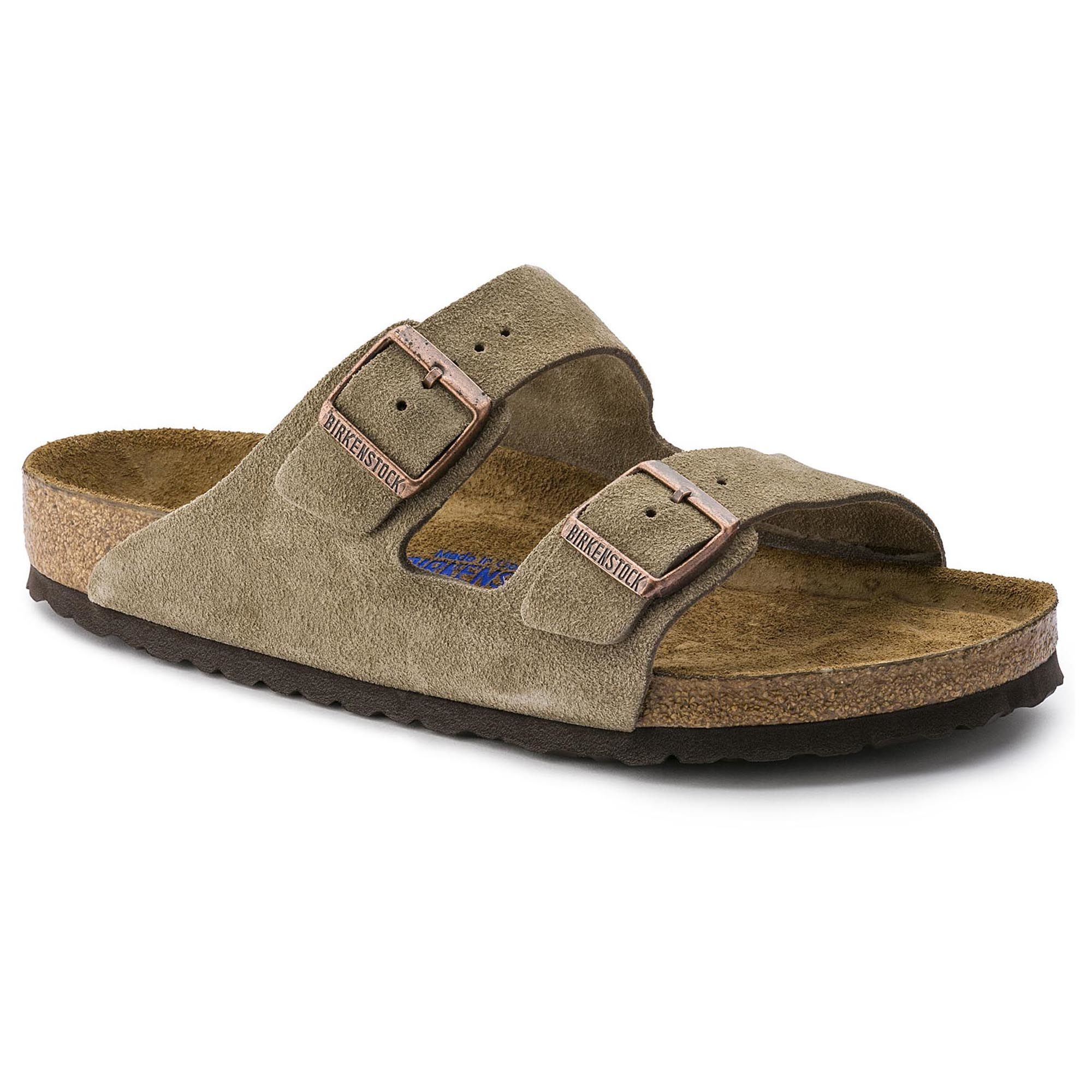 Arizona Soft Footbed Suede Taupe 0a5d1ccc1a7
