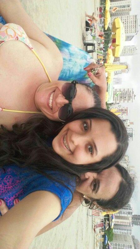 Daniela, Aninha e Maria Cristina