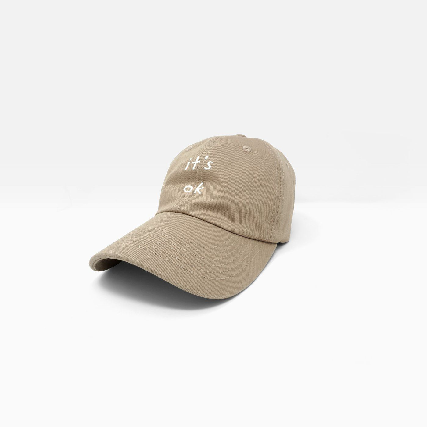 2dcab8cd61051 It s Ok Embroidered Dad Cap – iejvxr