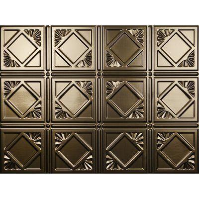 "mirroflex charleston backsplash wall paneling 18"" x 24"