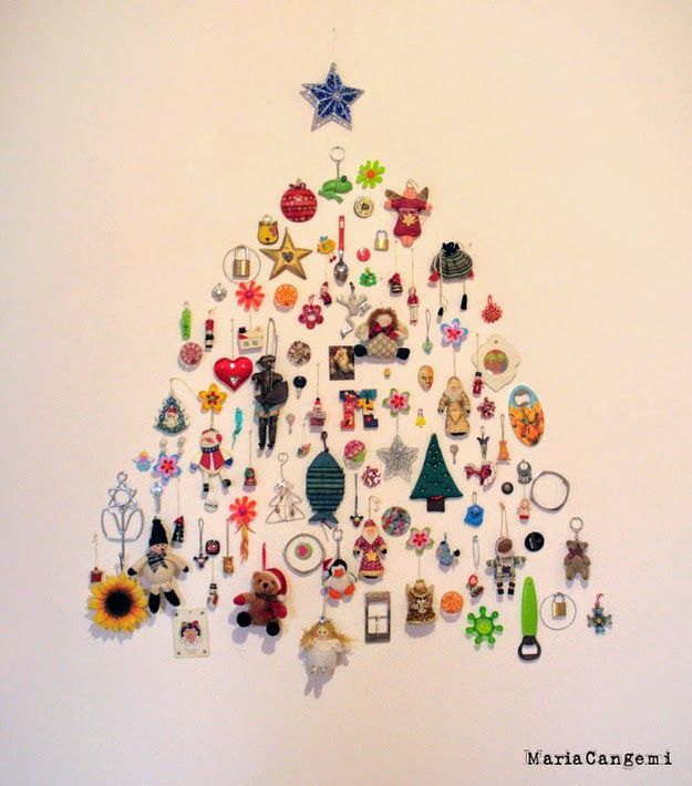 47 38 fabulous diy christmas trees that arent actual trees solutioingenieria Choice Image