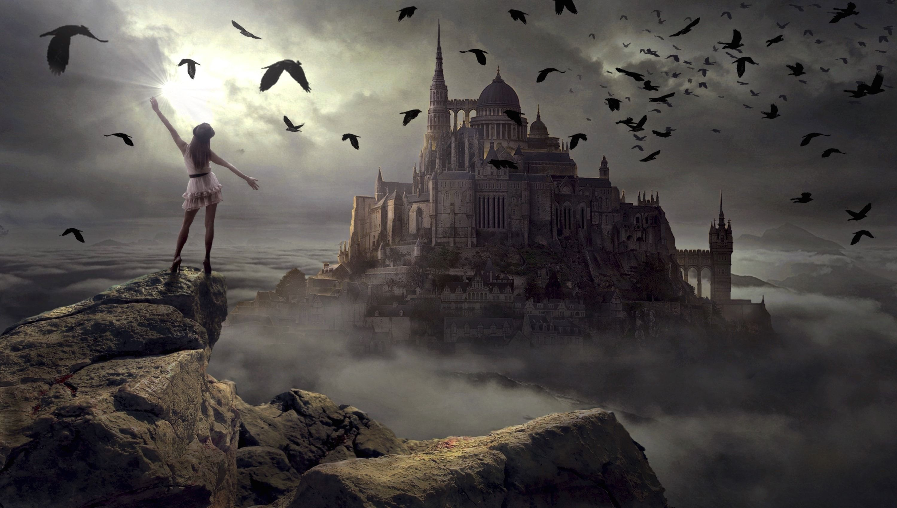 Mystery Fantasy Mood Mysterious Landscape photography