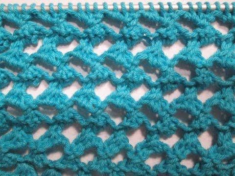 Tuto tricot apprendre a tricoter le point ajoure oeil de - Chat facile et gratuit ...