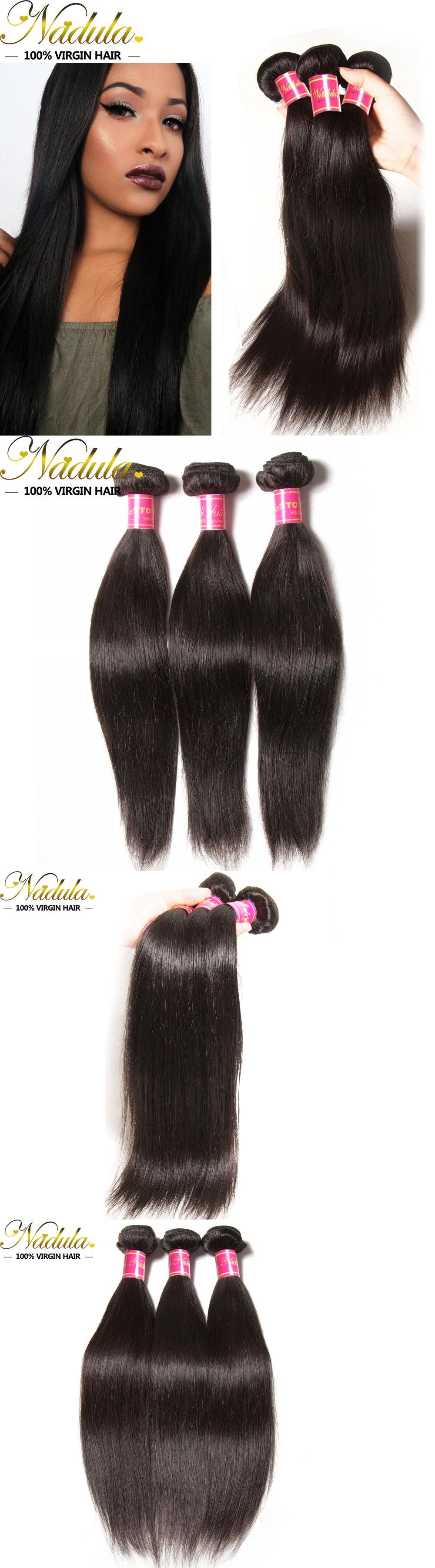 Hair Extensions 3bundles Brazilian Straight Hair 300g Unprocessed