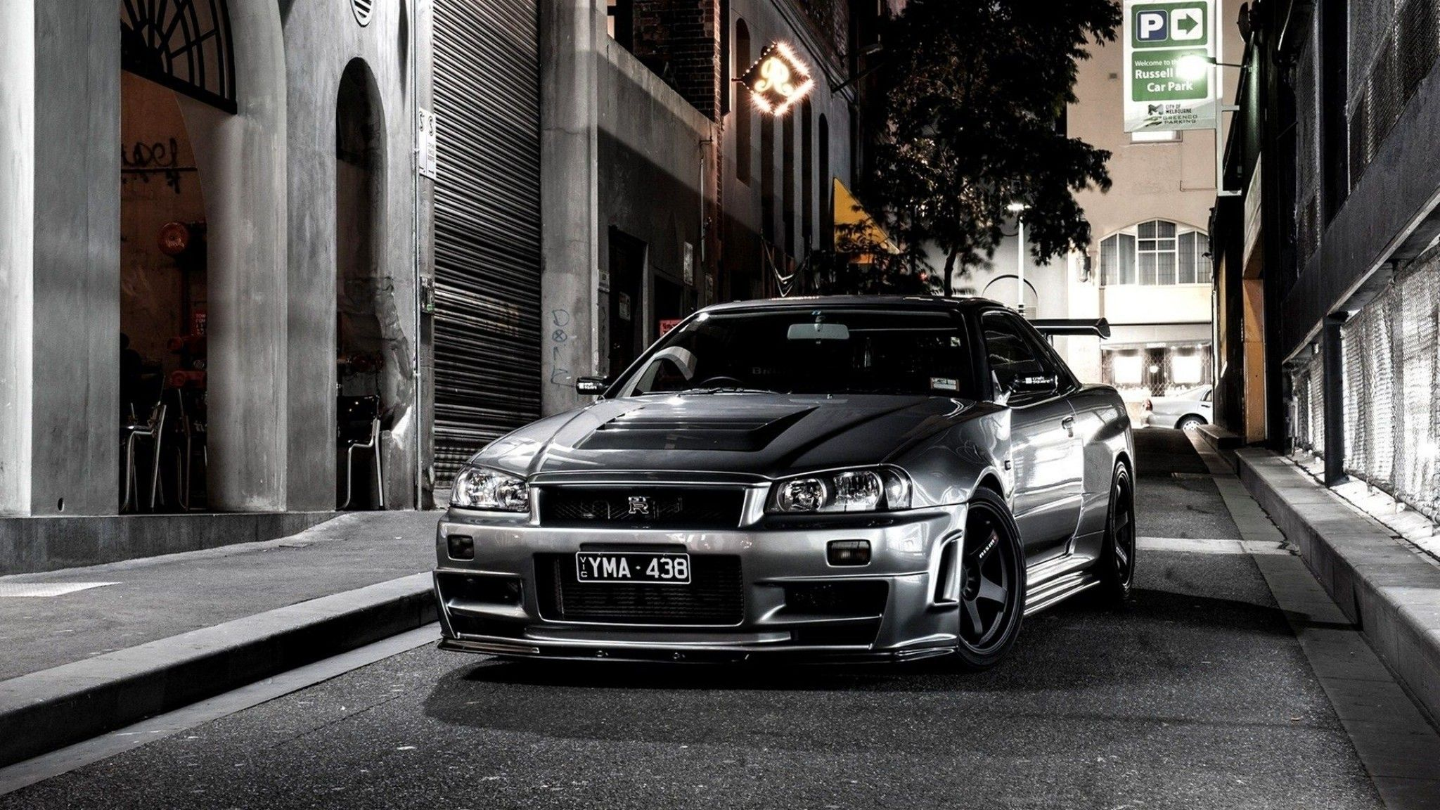 Nissan Skyline Gtr R34 Wallpaper 2048x1152 Download Skyline Gtr