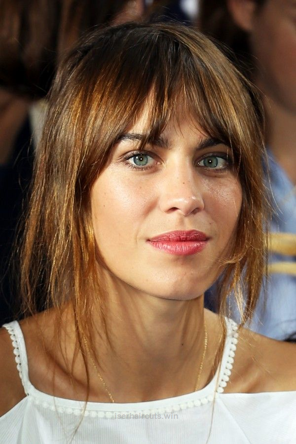 Alexa Chung Bangs Instyle Hairstyles With Bangs Pinterest
