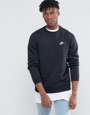 Shop Nike Sweatshirt In Black at ASOS.