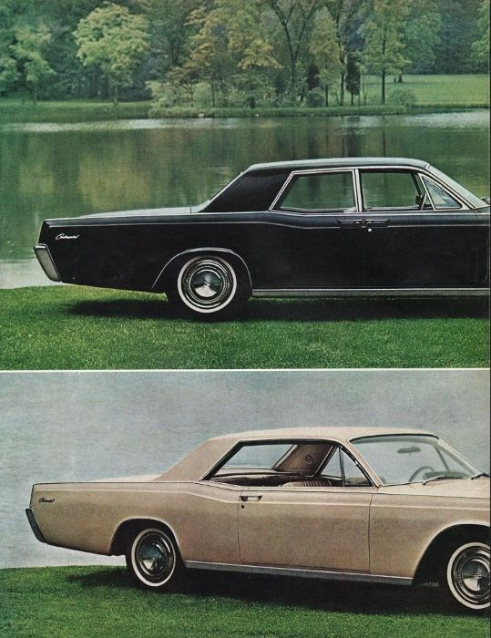 1966 Lincoln Continental Ad Unmistakably New Model Year 1966