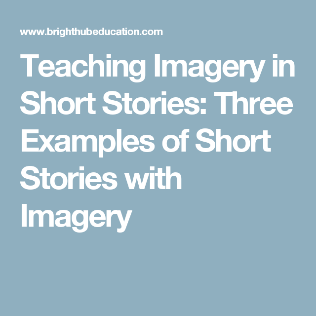 short stories with imagery