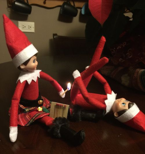 20 Horribly Inappropriately Ways To Pose Your Child's Elf