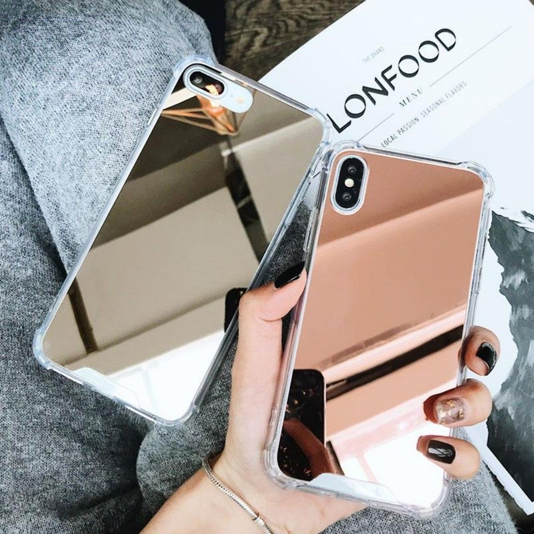 Soft Mirror Phone Case For Iphone Iphonexscase Iphone6scase