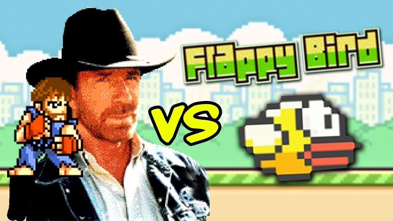 Chuck norris vs flappy bird wwwflappybirdscouk www