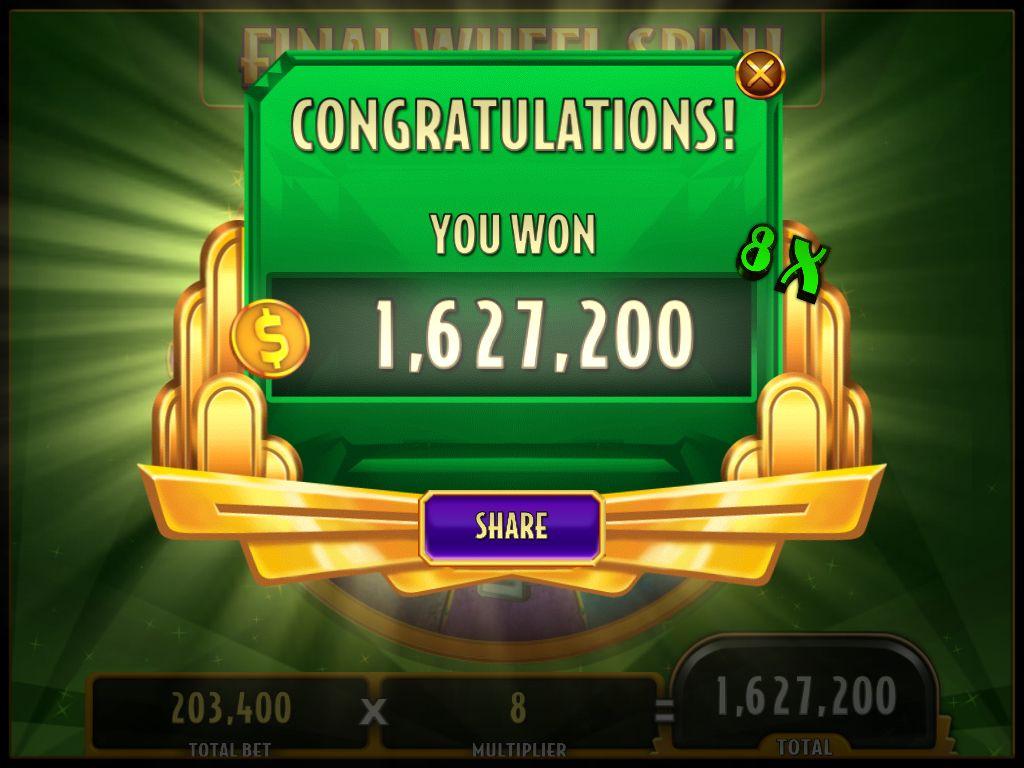 i won a bonus wheel join me to win big in wizardofozslots http