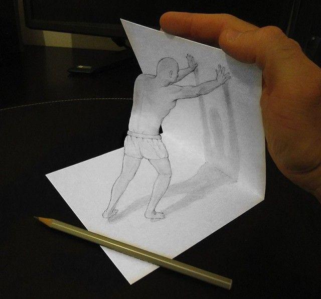 dessins en 3d au crayon à papier | dessin en 3d, dessin 3d et crayon