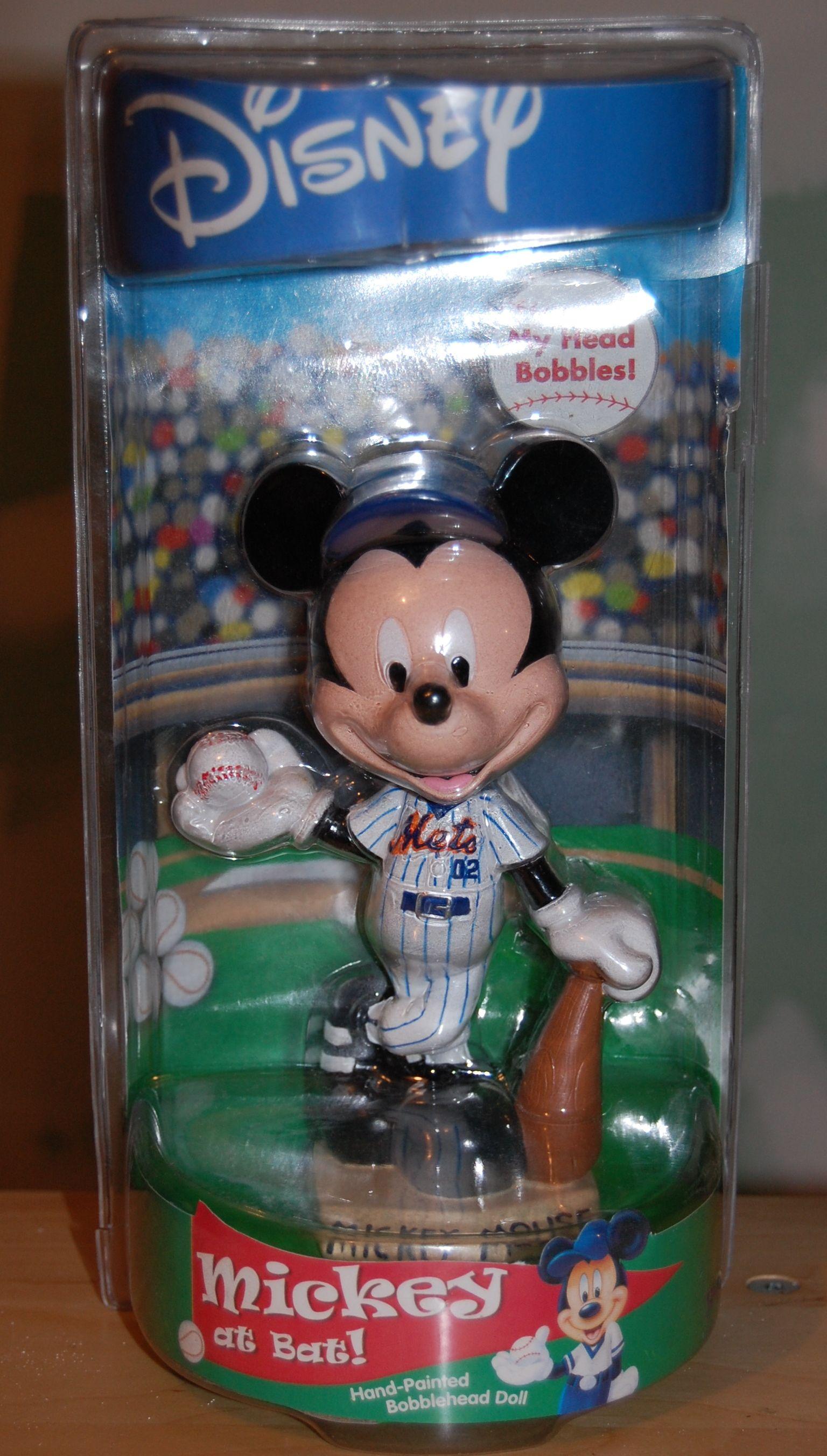 NY Mets Mickey Bobblehead | Baseball Mickey Collection | Pinterest ...
