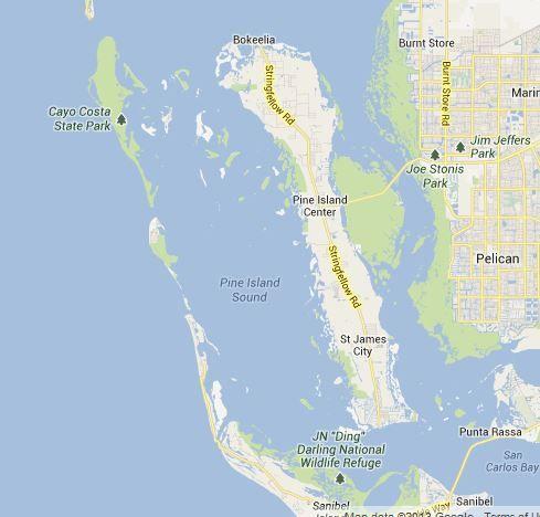 Pine Island Florida Map | Pine Island, Florida | Florida - My New ...