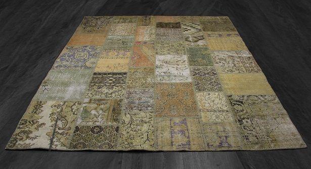 Karpet Vintage Patchwork.Vintage Patchwork Carpet In Naturel Colours Home Interior