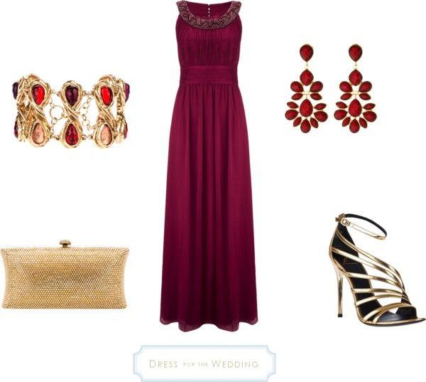 Dress For A Formal Wedding John Lewis Deep Ruby Colored Dress Wedding Guest Dress Pretty Bridesmaid Dresses Dresses