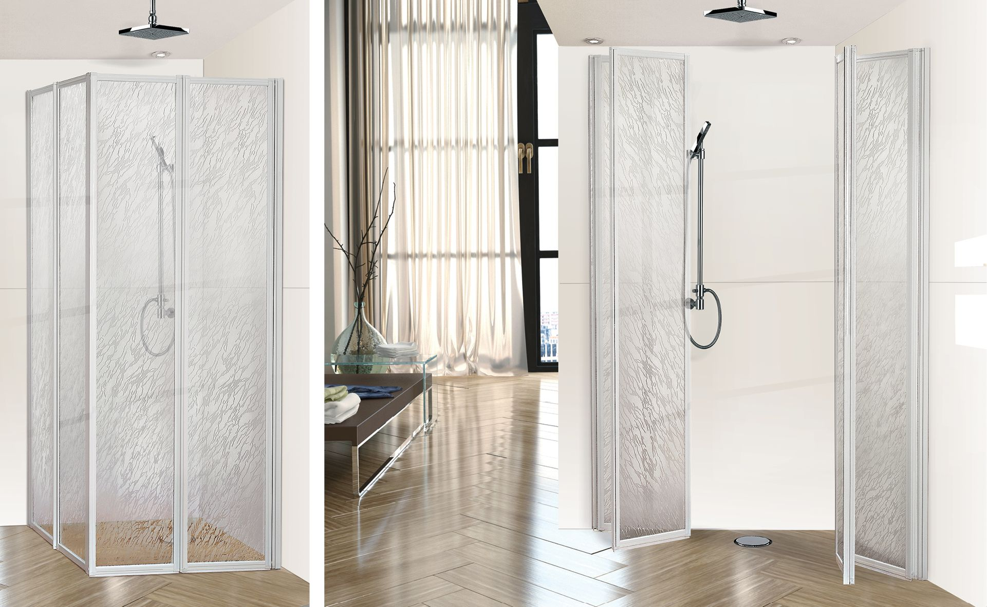 SERIE BOX A VANISHING SHOWER DOORS www
