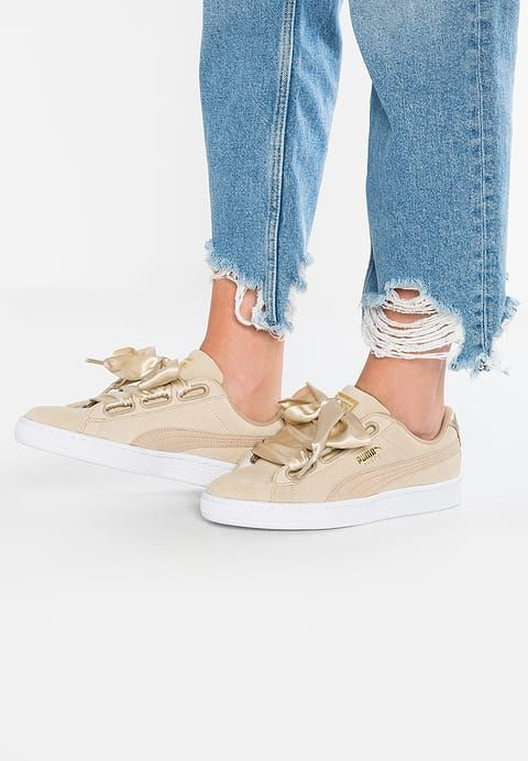super popular 0cd60 f125c Puma SUEDE HEART SAFARI - Sneakers laag - safari - Zalando.nl