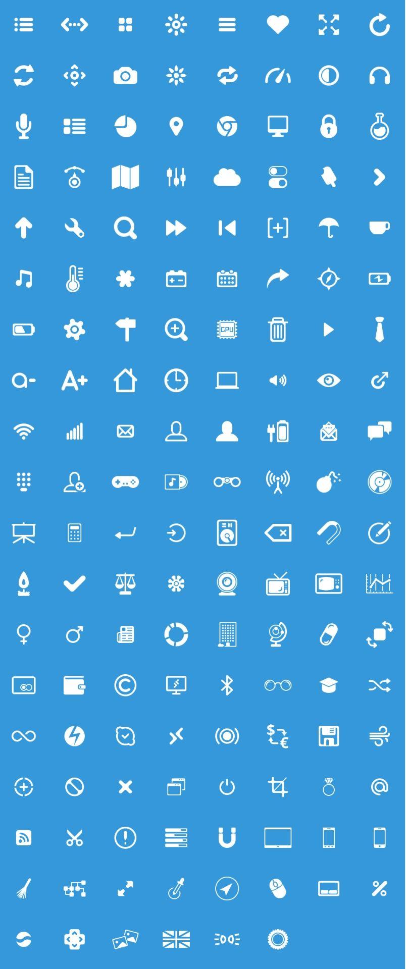 20 Free Glyphs   Web design freebies, Free icon set, Icon design ...