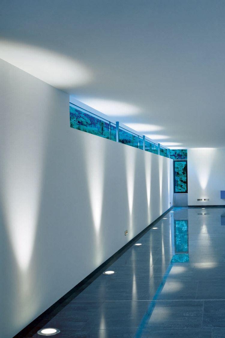 led fliesen indirekte beleuchtung integriert fussboden. Black Bedroom Furniture Sets. Home Design Ideas