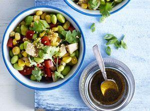 Insalate d 39 estate 7 ricette da provare ricette da for Cucinare edamame