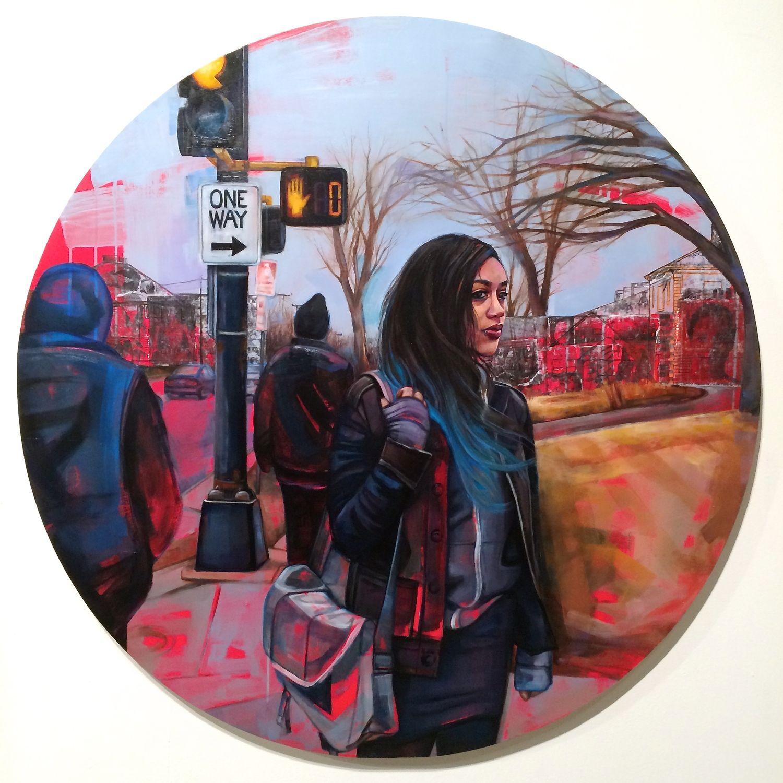 """""""Of Other Paths (Heterotopia)"""" by Leslie Barlow http://www.lesliebarlowartist.com"""