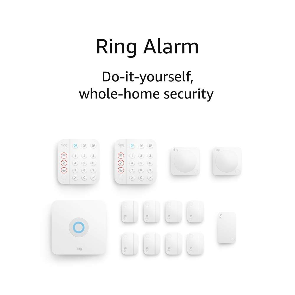Ring Alarm 14 Piece Kit Protect Your Home With The Optimal Home Security System Best Home Security System Home Security Home Security Systems